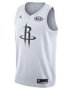 cf7d27a6669427 Men s White James Harden Houston Rockets All-star Swingman Jersey. Lyst