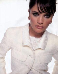 Helena Christensen for Valentino 1995