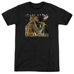 Concord Music - At Wattstax Adult Ringer T- Shirt