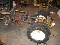 Znalezione obrazy dla zapytania home built articulated tractor