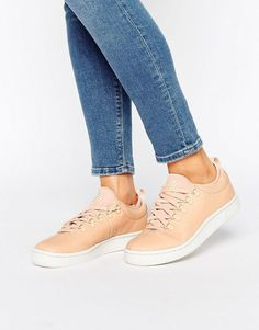 50678ae2e510 Shop K-Swiss Roy Ankle Sock Trainers In Pink at ASOS.