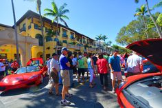 A beautiful day in February at the Cars on 5th Show lovingnaplesfl  #dorenenaples