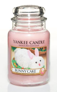 Bunny Cake Large Jar Candle 22 oz by Yankee Candle
