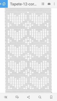 Crochet Mandala Pattern, Crochet Motifs, Crochet Diagram, Filet Crochet, Knit Crochet, Crochet Patterns, Crochet Bookmarks, Afghan Patterns, Loom Beading