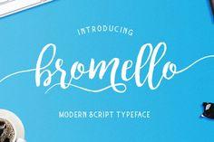 bromello typeface By alitdesign