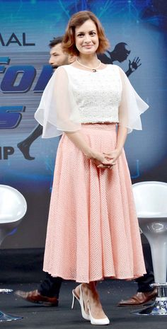 Dia Mirza at the launch of NDTV Marks for Sports campaign. #Bollywood #Fashion #Style #Beauty