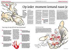 Illustration Gezienus Bruining, design Lucy Boers, art direction Erik Gigengack