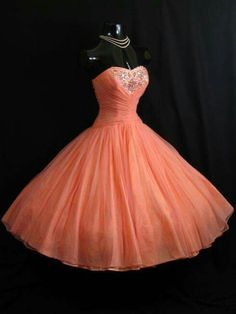 Saumon dress princess