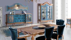 Roventa Ahşap Yemek Odası