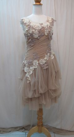 lace.. shabby chic dress