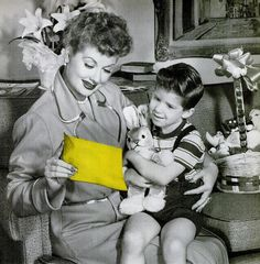"""Lucy for Western Union """"bunnygrams"""" 1957..."""