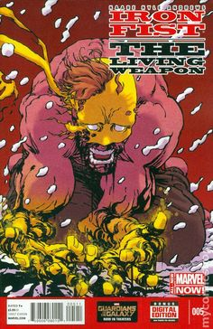 Iron Fist The Living Weapon (2014) 5  Marvel Comics Modern Age Comic book covers Super Heroes  Villians