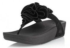 Fitflops Frou Black Women's Sandals Fitflops Frou Black Women's Sandals [oo072] - $60.00 : Fitflop Online|Free shipping over $200  $60.00