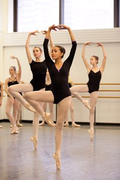 The School of American Ballet.