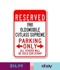 81 cutlass fuse box chevy monte carlo ss 81 cutlass pinterest plaques signs 1981 81 oldsmobile cutlass supreme parking sign ebay home garden publicscrutiny Images