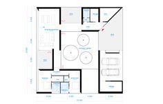 (Viz) 5 House Designs / Saunders Architecture - O House Plan