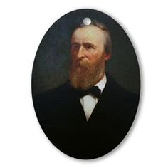Rutherford B. Hayes Christmas Ornament
