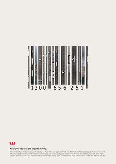 Interesting way to show movement, yet at first glance it looks like a bar code
