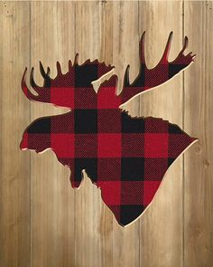 Buy the Reflective Art Buffalo Plaid Moose Silhouette Wood Wall Decor and more quality Fishing, Hunting and Outdoor gear at Bass Pro Shops. Farmhouse Wall Decor, Wood Wall Decor, Diy Wall Art, Wood Wall Art, Wall Décor, Wood Walls, Farmhouse Design, Moose Silhouette, Moose Decor
