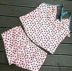 Ella's Fifi pyjamas - sewing pattern by Tilly and the Buttons Tilly And The Buttons, Pyjamas, Dressmaking, Sewing Patterns, Knitting, Crochet, Summer, Inspiration, Knights