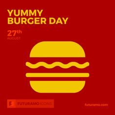 Yummy Burger Day!  All icons used in the series are available in our App. Imagine what YOU could create with them! Check out our FUTURAMO ICONS – a perfect tool for designers & developers on futuramo.com #icondesign #icons #iconsystem #freeicons #pixel #pixels #pixelperfect #flatdesign #ux #ui #uidesign #design #developer #developers #webdesign #app #appdesign