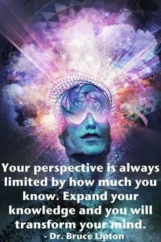 What do I know? I know that it is important to expand my knowledge. Education has helped me to expand my knowledge and transform my mind and ways of thinking in certain areas of my life.