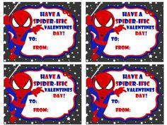 instant download Spiderman Valentine DIY 300 DPI printable holiday super hero spiderman web marvel comic book on Etsy, $4.00