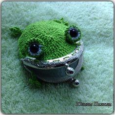 Вяжем кошелек «Полезная Лягушка» - Ярмарка Мастеров - ручная работа, handmade