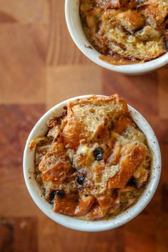 Chocolate croissant bread pudding--xoxo I must try this!  corner-12