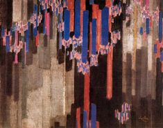 Frantisek Kupka - Ordination of Verticals, 1911