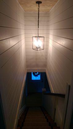 shiplap stairwell