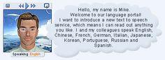 Translate and Speak ; imtranslator ( Merci Fred) :  taper un texte ; écrire de quelle langue vers quellelangue et cliquer sur Embed (en haut et plus bas) et le texte s'écrit + l'audio