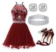 """""""Homecoming"""" by xxbubblesxx319 ❤ liked on Polyvore featuring Frederic Sage"""