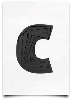 Tony Ziebetzki's Type Scan Alphabet | Trendland: Design Blog & Trend Magazine