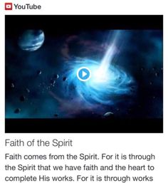 Faith of the Spirit from Signs, Science and Symbols of the Prophecy http://www.andrewtheprophet.com/11001/97731.html