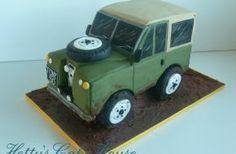 Gallery @ Hettys Cake House Landrover cake x