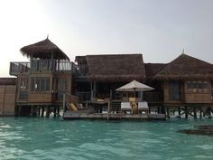 Gili Lankanfushi Maldives in Male, Maldives...Cottages on the water, literally!