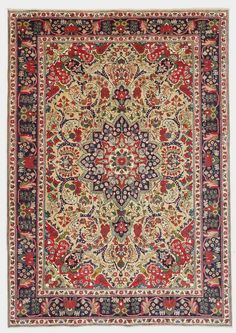 Persian Tabriz Rug Rugenvy Nowandagain Consignments