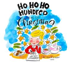 Ho Ho Ho Hundred days till Christmas! By Blond-Amsterdam