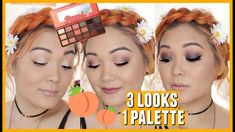 3 Looks 1 Palette // Too Faced Sweet Peach Palette - YouTube