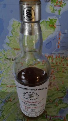 Whisky Single Malt FETTERCAIN 46° 1996 - Une des 311 Bouteilles... 1 - Nez : Vin, végétale, fruit, malt... 2 - Bouche : Délicatement épicé, timidement fumé, pointe tourbe, fruits, malt, orange... 3 - Finale : Vin, sucre...
