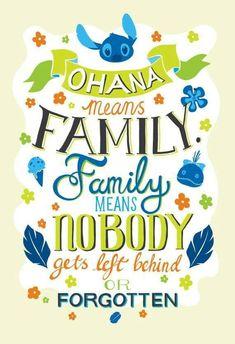 Disney Lilo And Stitch Ohana Means Family Typography Quote Poster Art Print Disney Lilo et Stitch Ohana signifie famille par PenelopeLovePrints Plus Disney Stitch, Lilo E Stitch Ohana, Lilo And Stitch Quotes, Poster Art, Quote Posters, Poster Prints, Disney And Dreamworks, Disney Pixar, Disney Magic
