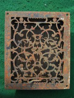 Antique Decorative Heat Registers