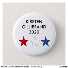 Presidential Election 2020 Baby Romper Star Banner Gillibrand for President