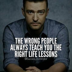 The wrong people will always teach you the right life lessons. - Follow @success_dominator for more daily Motivation and Success Quotes #SuccessDominator ✨ Follow @success_dominator Follow @success_dominator Follow @success_dominator