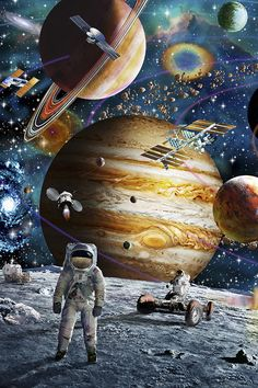 Space Odyssey – Science, Physics and Astronomy News Wallpaper Earth, Planets Wallpaper, Trippy Wallpaper, Wallpaper Space, Galaxy Wallpaper, Wallpaper Backgrounds, Galaxy Painting, Galaxy Art, Cosmos