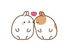 Image result for cute kiss kawaii