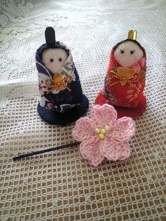 桜のヘアピンの作り方