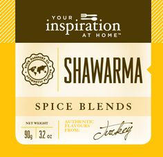 Shawarma Spice Blend  Rich, aromatic and earthy blend of middle eastern herbs and spices. Citrus notes from sumac. Shopping Cart www.lindapanko.yourinspirationathome.com.au