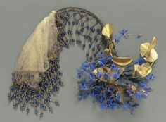 Gilded French headdress mid-1800s